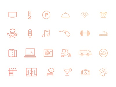 Hotel Icons Pack