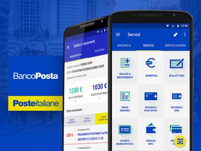 Bancoposta App Redesign