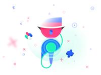 The Speaker - Game Festival App Concept