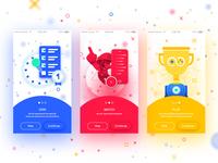 Game Festival App Concept - Onboarding
