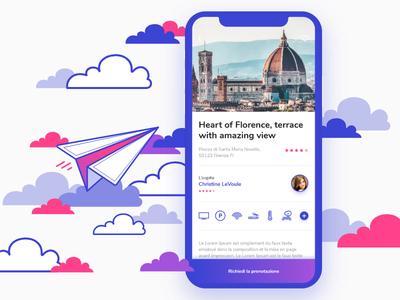 Travel App - Ui Concept Screen
