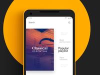 Choose Playlist - Classical Music App #1