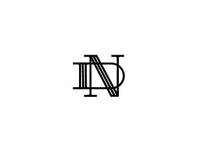 Nd monogram n d