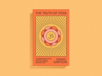 The Truth of Yoga Cover cover art flower yoga publishing print dust jacket book cover book