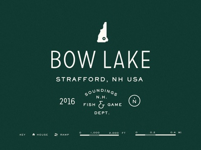Bow Lake Map