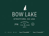 Bow Lake Map