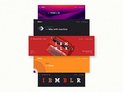 IBMblr wordmark illustration machines rand blog web ui patents innovation tumblr ibm