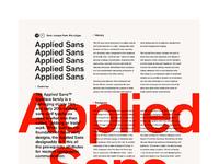 Chrisallen monotype appliedsans poster