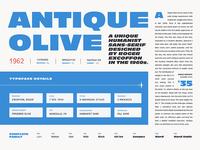 Fonts.com Antique Olive