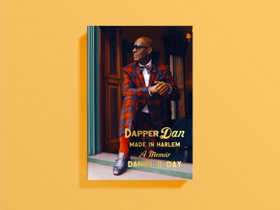 Dapper Dan Cover print dapper dan memoir cover art book cover