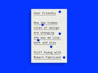 Chrisallen userfriendly
