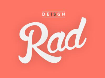 Design is Rad