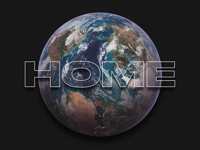 Home planet home space earth