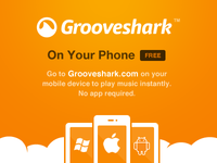 Grooveshark Mobile (HTML5 app)