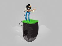 Extreme Outdoor Rock Speaker