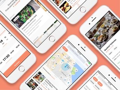localgusto find list filters salmon map booking details app ios restaurants