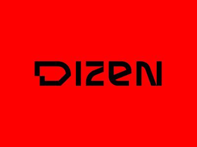 Dizen letter logotype branding brid typography identity mark symbol design logo
