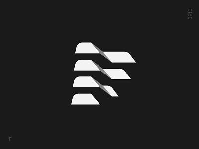 Factory identity brand design letter typography symbol mark logotype f logo