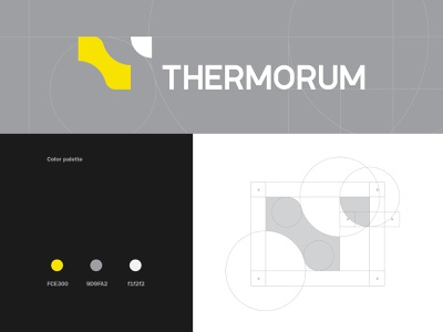 Thermorum Logo t logo poster graphic design monogram letter color vector icon brid logotype line illustration typography branding brand identity symbol design mark logo