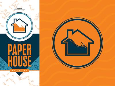 Paperhouse Brewing beer branding