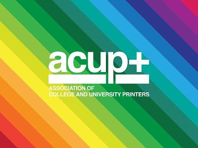 ACUP+ houston typography branding design
