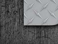 Diamond Plate Header Detail