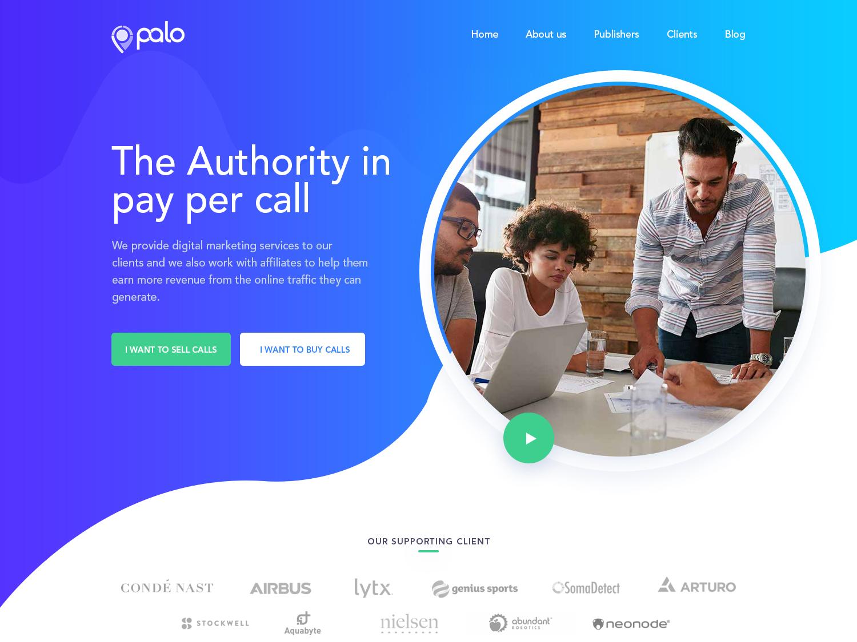 Palo creative design website design palo illustration ui typography esolzwebdesign