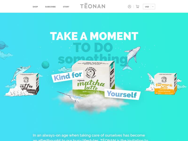 Teonan creative webdesign ideal ui illustration typography esolzwebdesign teonan