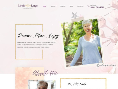 LindaLingo graphicdesigner template html css wordpress webdesign graphicdesign uidesign webdesigner business design ui esolzwebdesign illustration corporate