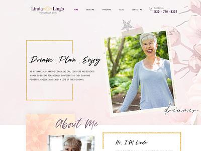 LindaLingo graphicdesigner template html css wordpress webdesign graphicdesign uidesign webdesigner business design ui esolzwebdesign illustration corporate