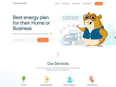 SmartPowerBill webdesign css html designinspiration creative uidesign webdesigner wordpress graphicdesign esolz esolzwebdesign design ui illustration corporate