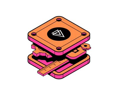 Rebound - Pluralsight Design Sticker