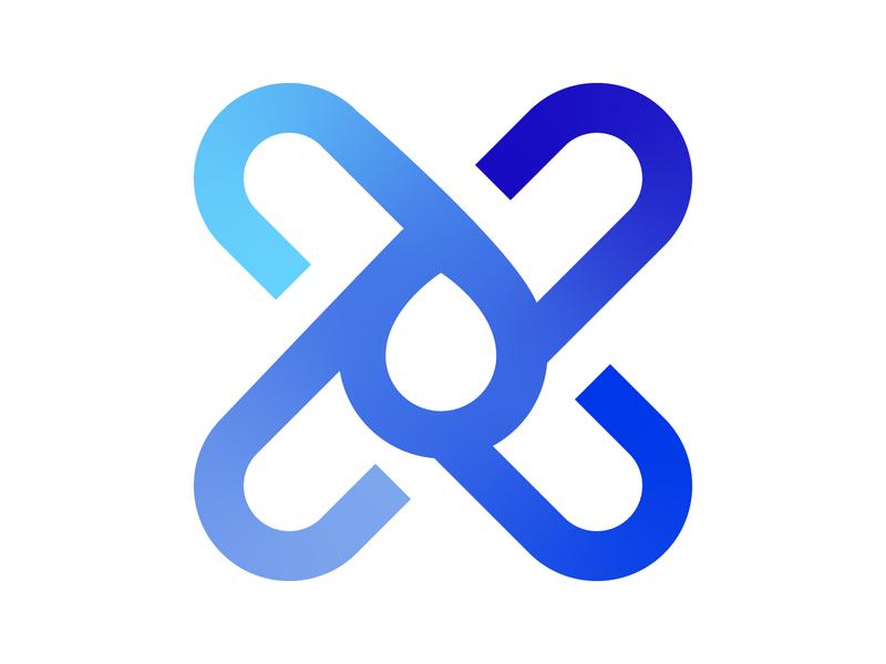 Recycle symbol identity branding alphabet letter mark design monogram logo plastic reduce recycle reuse