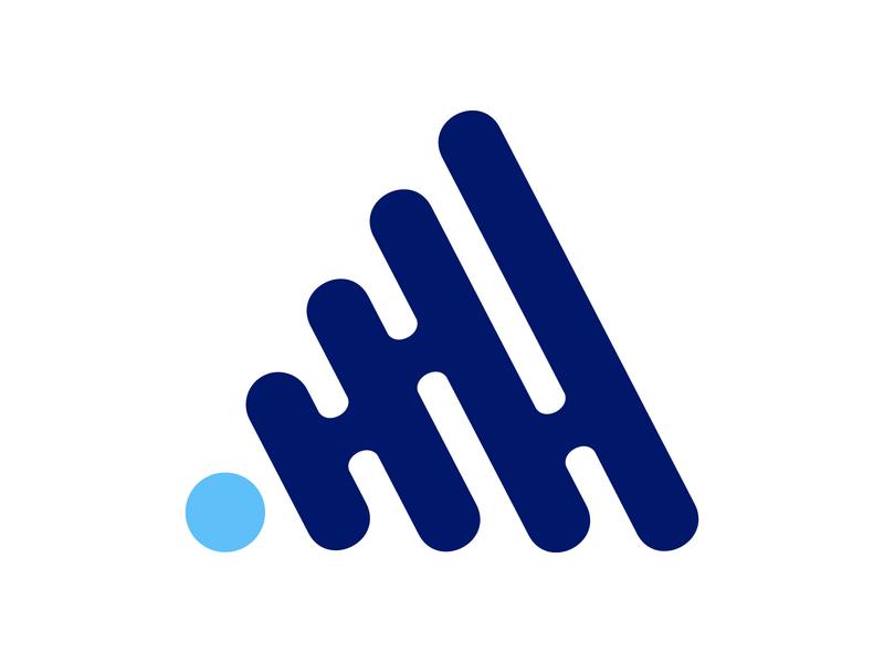 A mark abstract realestate realestate logo symbol icon branding alphabet letter mark design monogram logo architecture