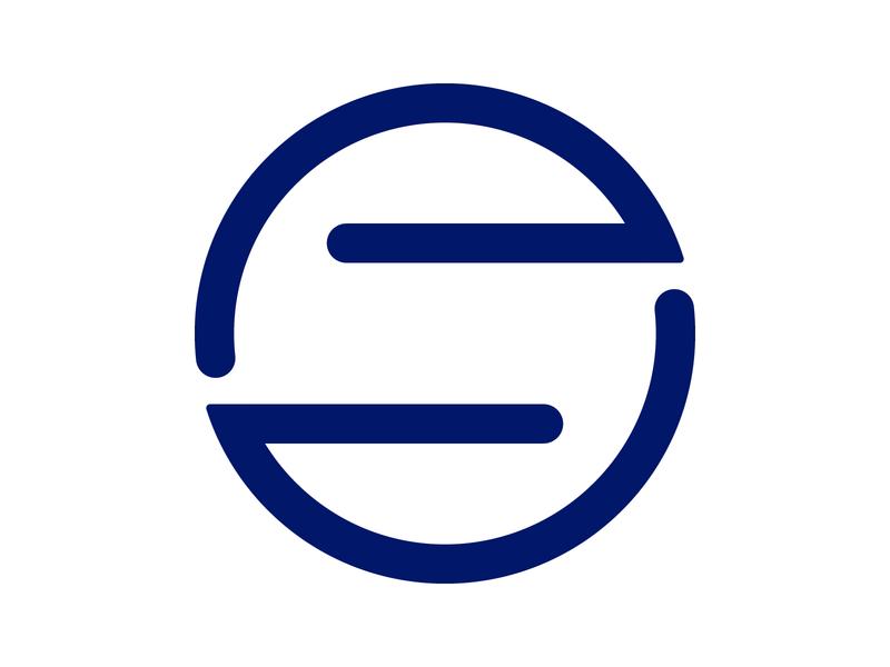 S Letter negative space branding icon alphabet letter mark design monogram logo identity s mark reference referral s logo