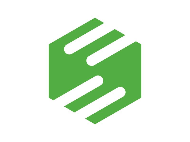 S - Mark identity branding alphabet letter mark design monogram logo symbol s handshake arrow s letter logo