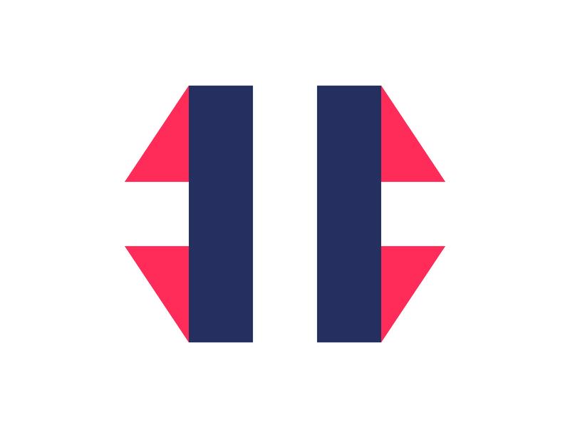 H logo identity branding alphabet mark design lettermark h letter logo