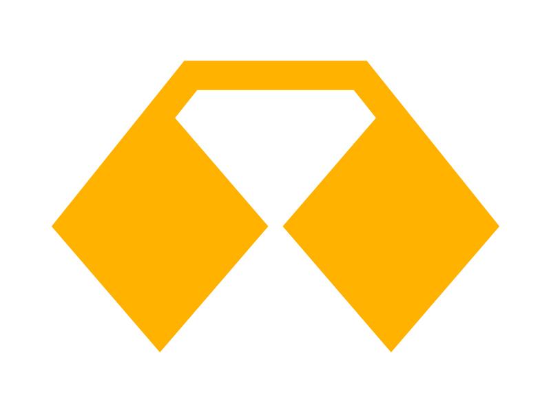 Diamond icon symbol identity branding mark design monogram logo arrow diamond logo