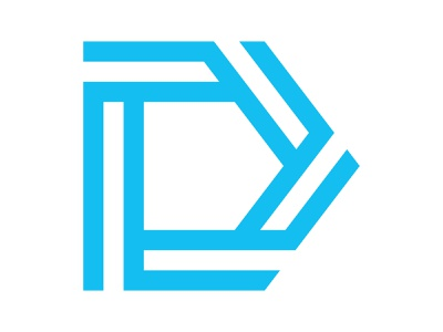 D logomark icon alphabet symbol letter identity branding mark design d monogram logo d letter logo d mark d logo