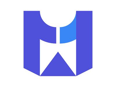 M Arrow letter symbol identity branding mark design monogram logo m arrow m logo m letter m arrow