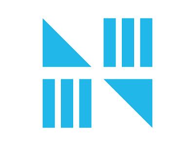 N logo icon letter symbol identity branding mark design monogram logo n letter logo n monogram n logo