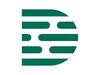 D Monogram icon symbol identity branding mark design monogram logo d d letter d mark d monogram d logo