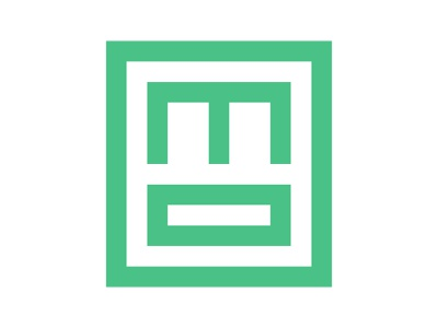 MO Square m logo icon symbol identity branding mark design monogram logo minimal shipping box logistic logo box logo square logo mo square