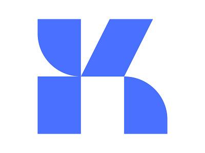 k letter icon symbol identity branding mark design monogram logo xler8brain k k letter k monogram k mark k logo