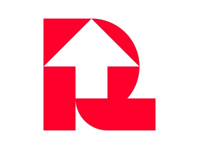 Rise logomark o p q r s t u v w x y z a b c d e f g h i j k l m n xler8brain icon symbol identity branding mark design monogram logo r letter logo r mark arrow r arrow r logo upwards rise up rise