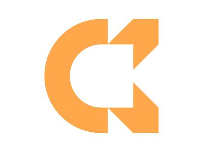 CK c logo xler8brain symbol identity branding mark design monogram logo ck monogram ck logo ck