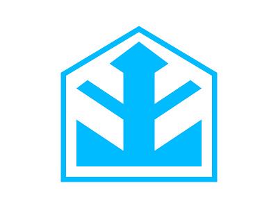 Haus home xler8brain symbol identity branding mark design monogram logo casa logo house logo home logo haus logo