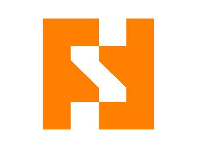 FSF xler8brain symbol identity branding mark design monogram logo fs monogram fs fs logo fsf
