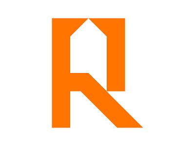 R + Home + Chat identity branding design monogram advisor xler8brain modern renovation casa house letter r r logo r home