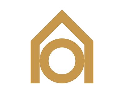 Opal House xler8brain symbol identity branding mark design monogram home logo house haus home opal house